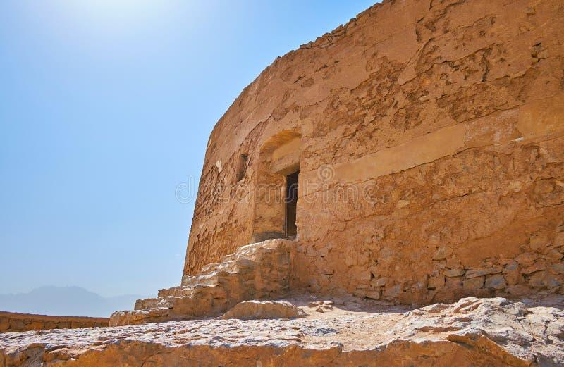 Visiti la torre di silenzio, Yazd, Iran fotografia stock