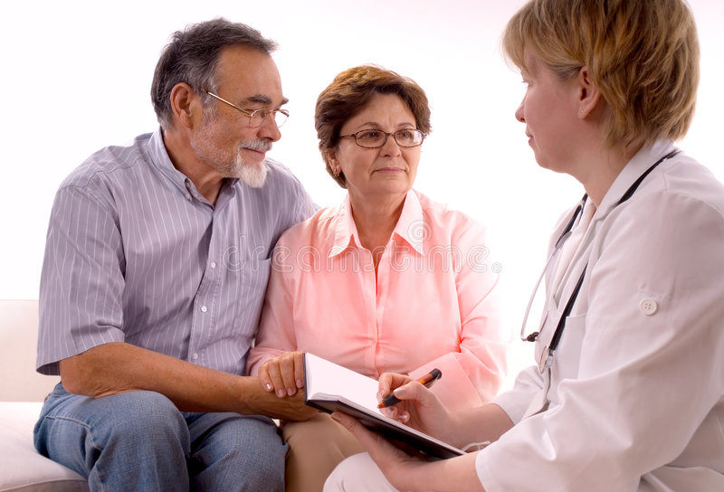 Download Visiting a doctor stock image. Image of medical, health - 5426205