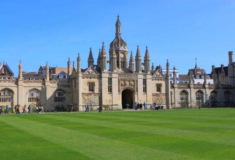 Kings College Cambridge University stock images