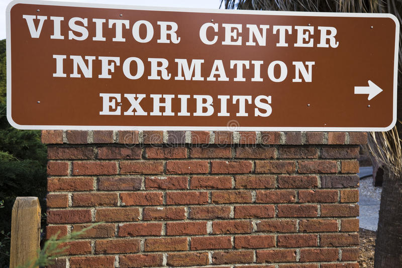 Visitor Center Stock Image