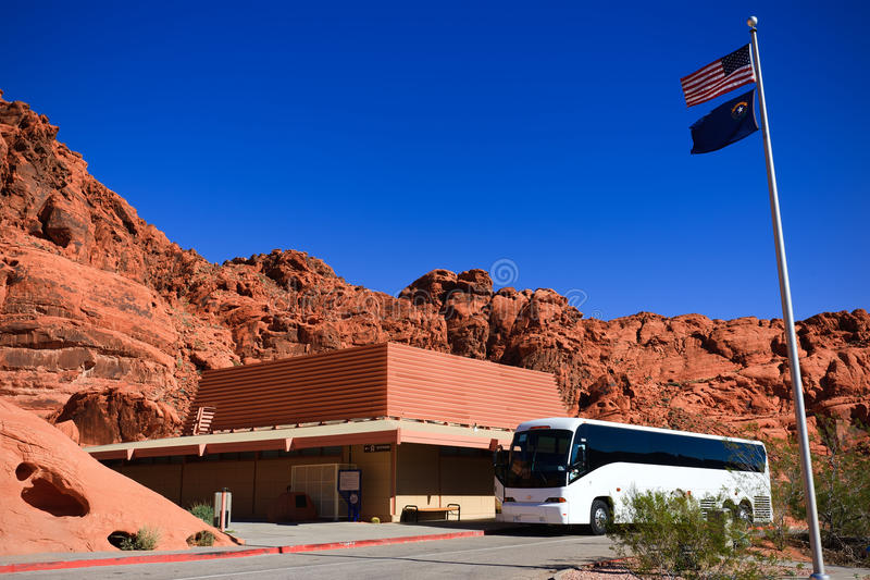 Visitor's Center Valley of Fire stock image