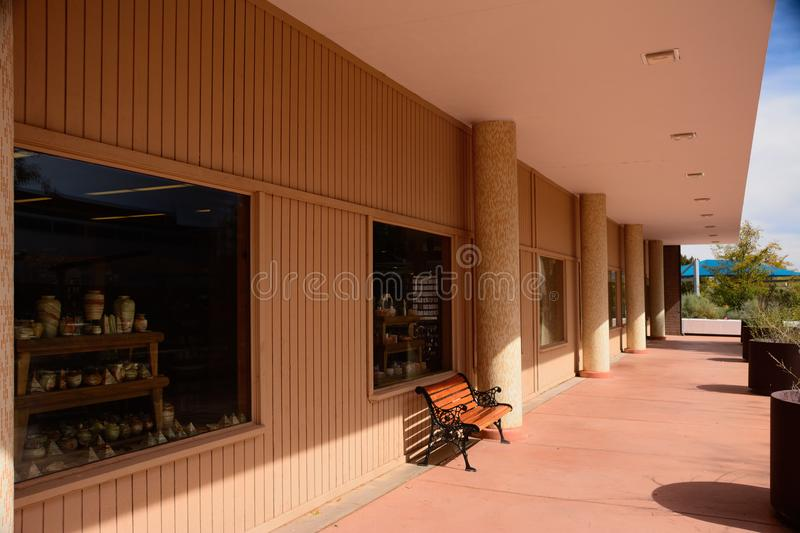Visitors Center royalty free stock photo
