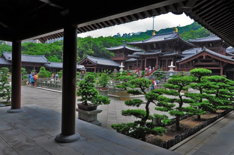 Visitors At Chi Lin Nunnery Hong Kong Editorial Image