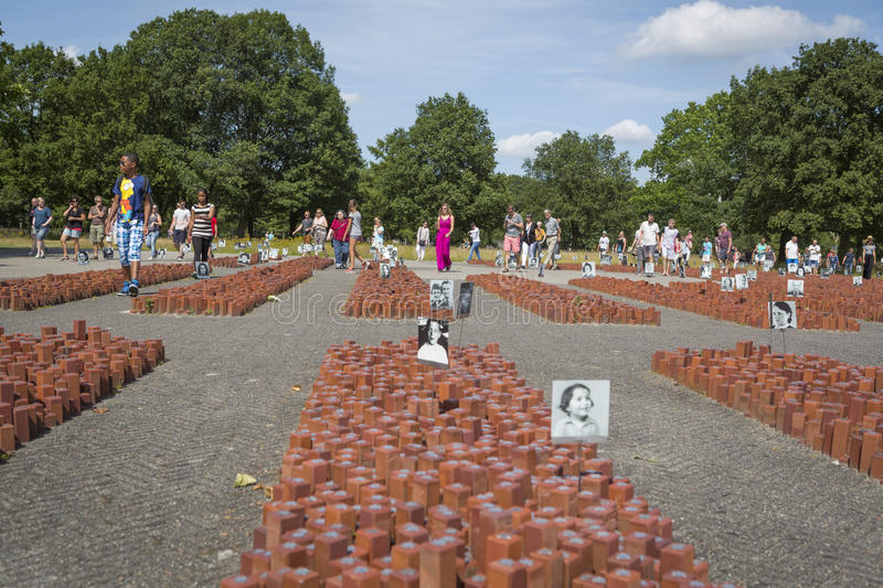 """Download Visitors At Former Concentration Camp """"kamp Westerbork"""" Editorial Stock Photo - Image of nazi, tourism: 83709898"""