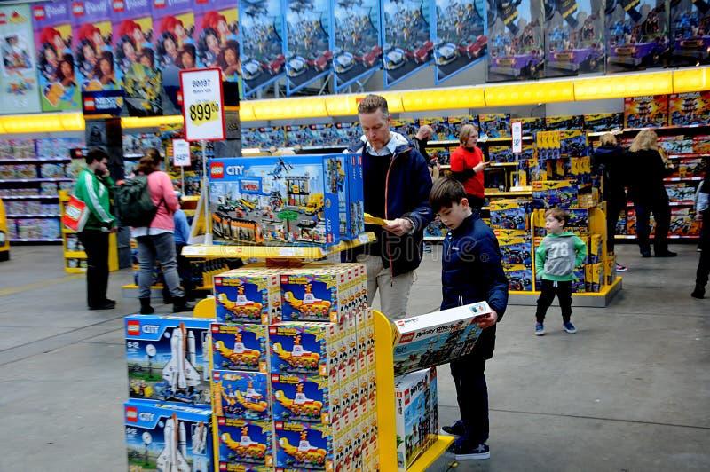 VISITORS AT LEGO WORLD FAIR 2017 Editorial Image - Image of danmark ...