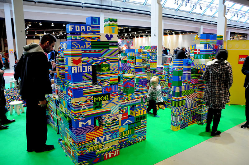 VISITORS AT LEGO WORLD FAIR 2017 Editorial Photography - Image of ...