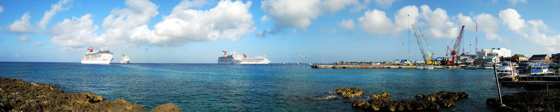 Visitting Grand Cayman royalty free stock photos