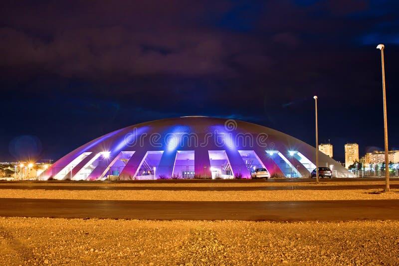 Visnjik Zadar cupola sportów kopuła fotografia royalty free