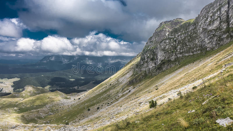 Visocica Mountain in Bosnia stock images