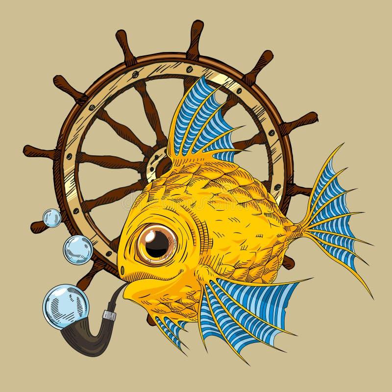 Vissen stock illustratie