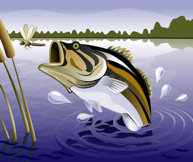 Vissen royalty-vrije illustratie