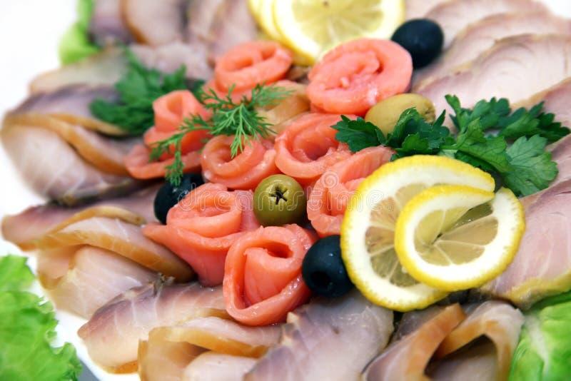 Vissen allsorts stock afbeelding