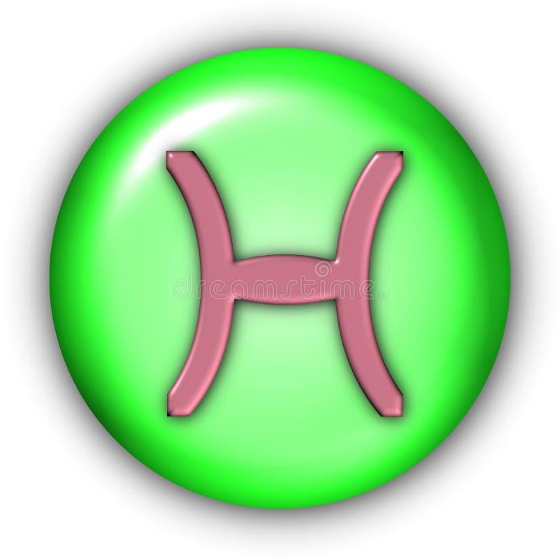 Vissen Glyphs stock illustratie