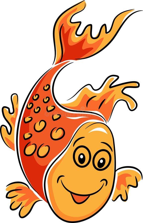 Vissenbeeldverhaal royalty-vrije illustratie