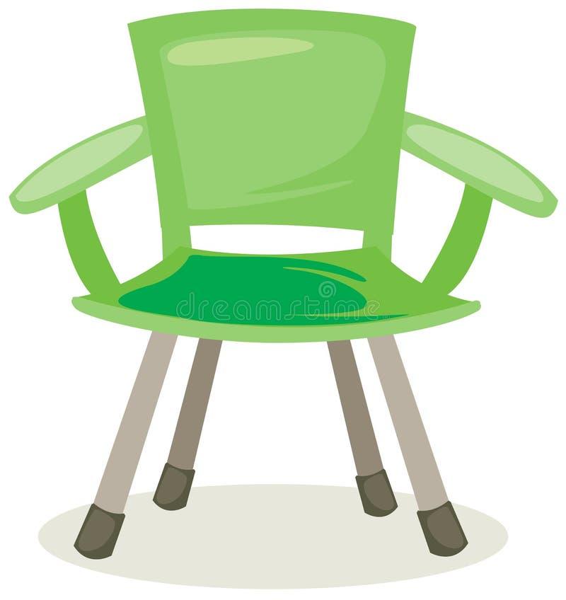 Vissende stoel vector illustratie
