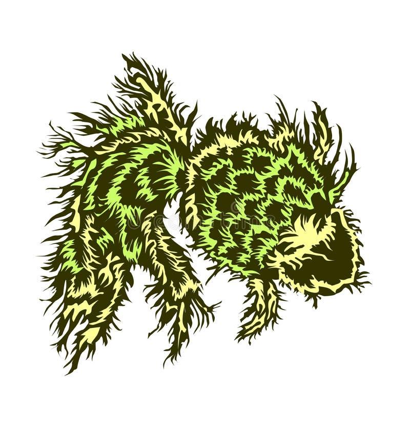 Vissengras stock illustratie
