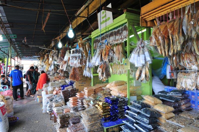 Vissenmarkt royalty-vrije stock foto