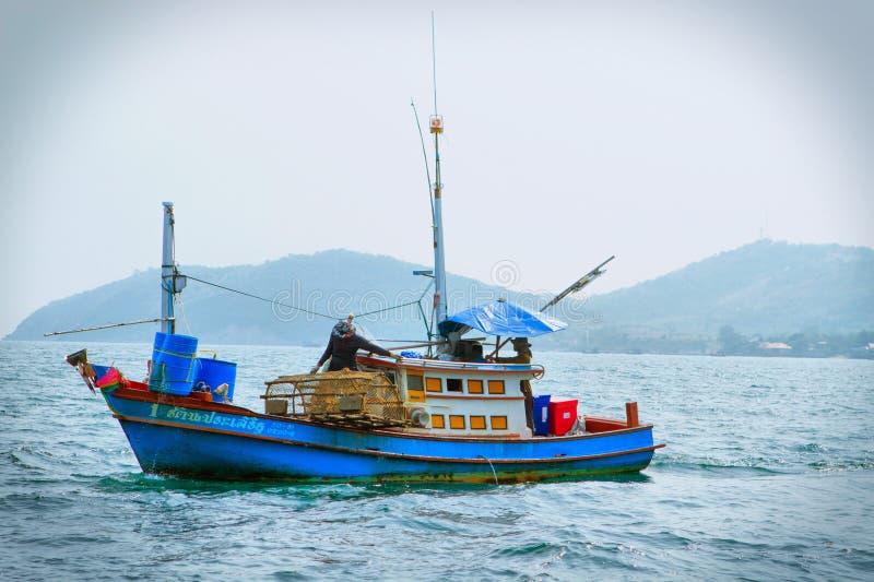 Visser Boat stock foto