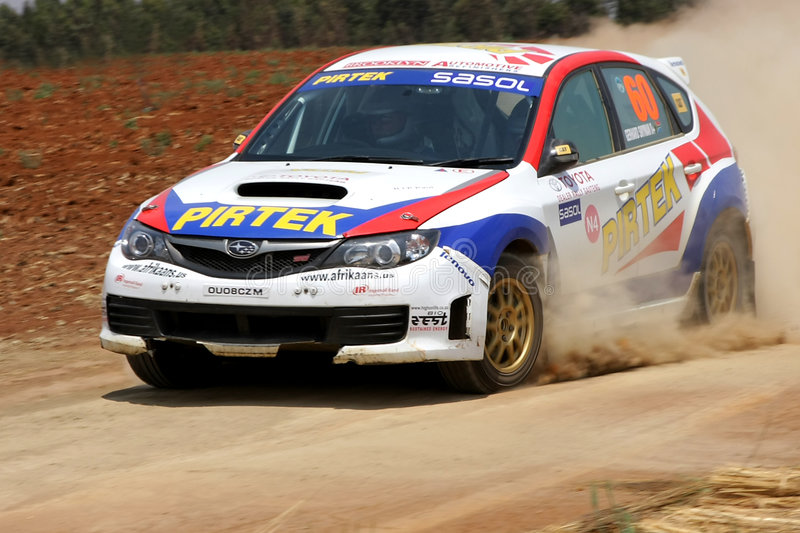 Visser du Plessis. At the Toyota Dealers Rally. 18 October 2008 in Johannesburg, South Africa stock photo