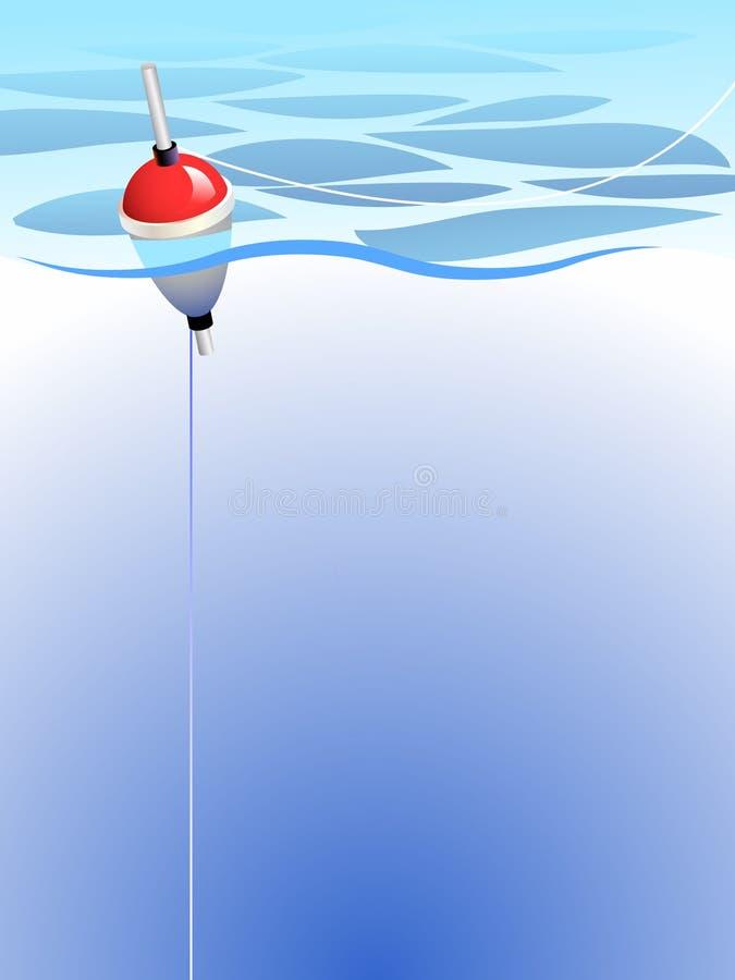 Visserij vector illustratie