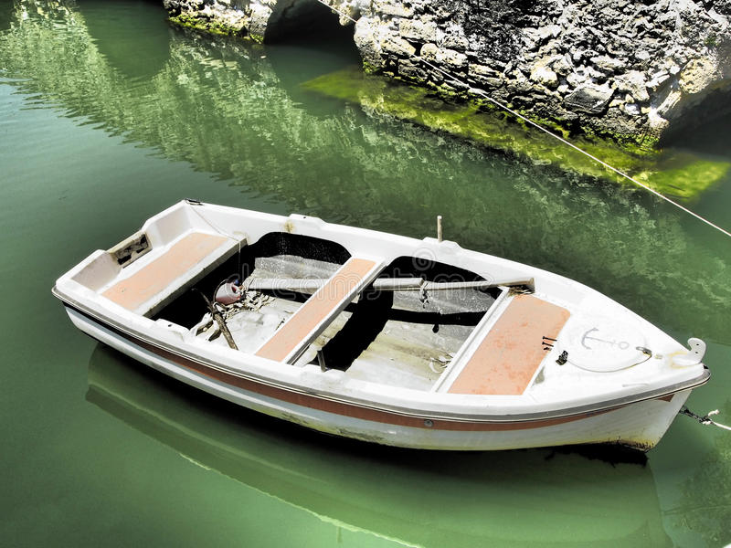 Vissersboot. stock fotografie