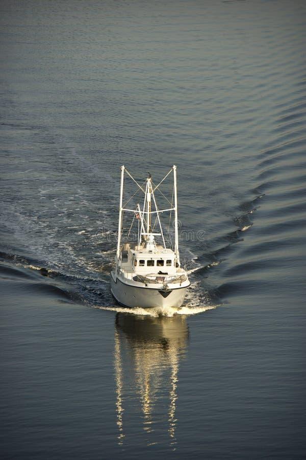 Vissersboot. royalty-vrije stock fotografie