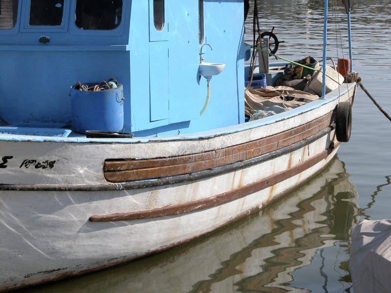 Vissersboot stock foto's
