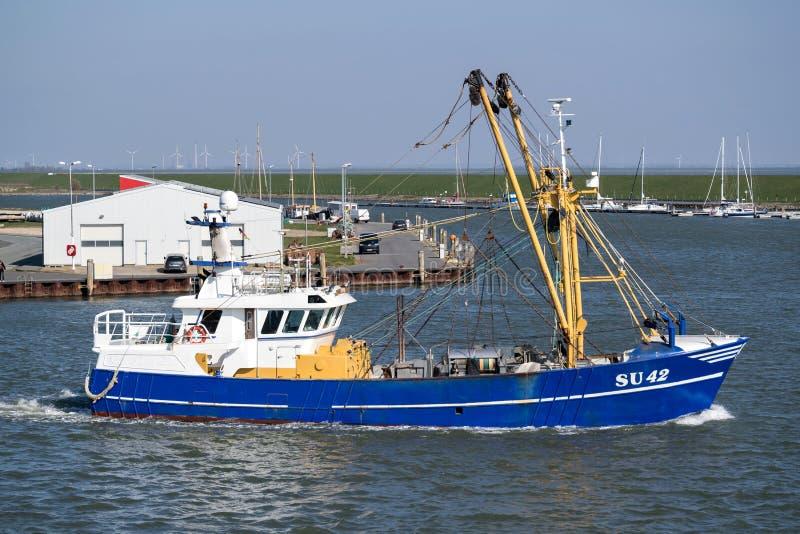 Vissersvaartuighoop stock foto's