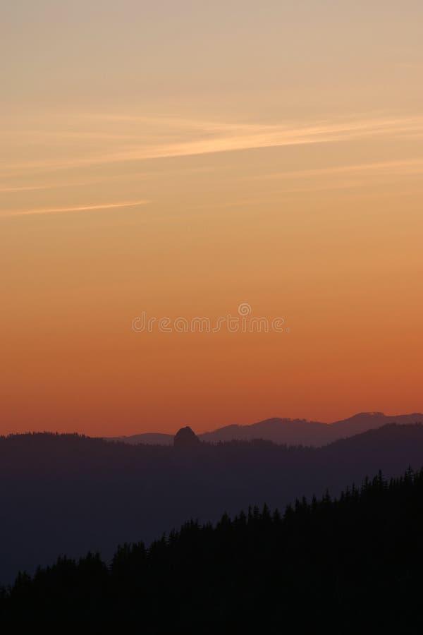 vista ηλιοβασιλέματος στοκ εικόνα με δικαίωμα ελεύθερης χρήσης