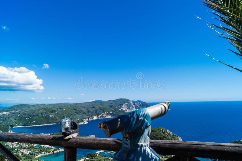 Vista Κέρκυρα της Bella στοκ φωτογραφία με δικαίωμα ελεύθερης χρήσης