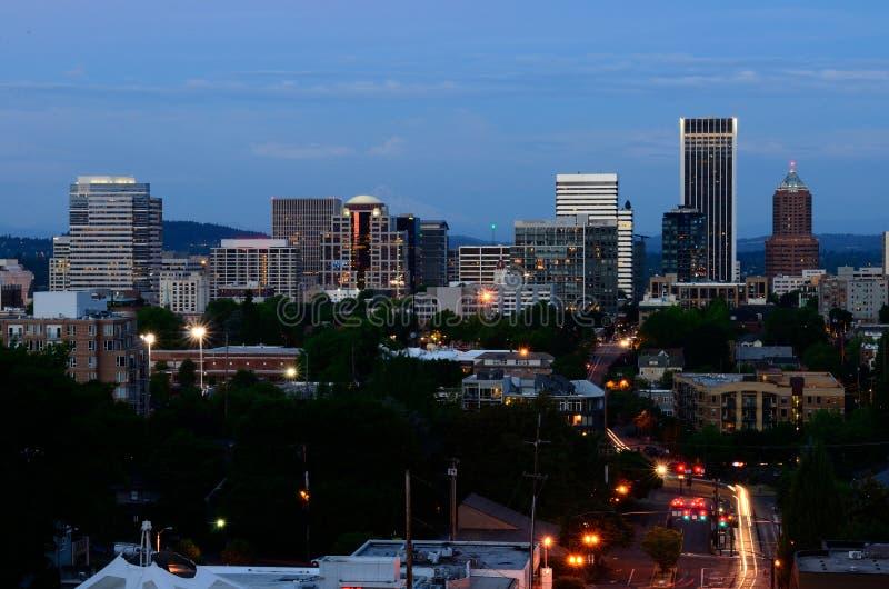 Vista του Πόρτλαντ στοκ φωτογραφία με δικαίωμα ελεύθερης χρήσης
