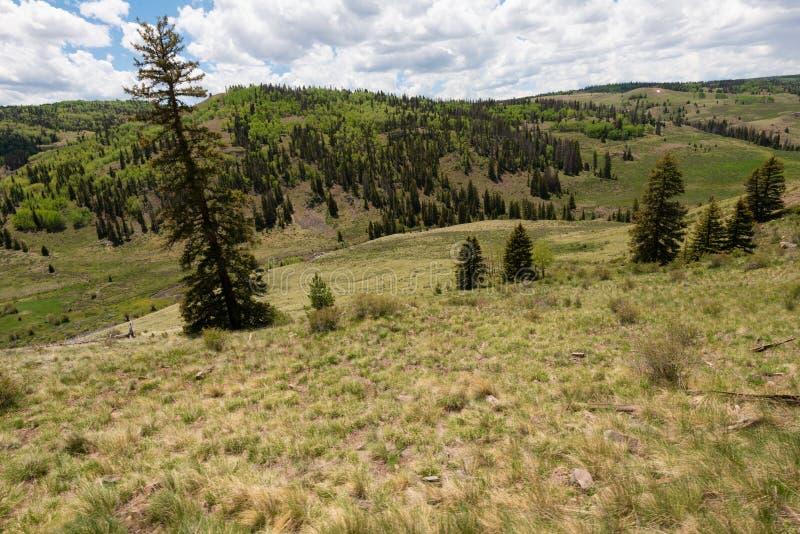 Vista υψηλών βουνών στοκ φωτογραφία με δικαίωμα ελεύθερης χρήσης