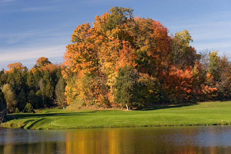Vista 10 Di Golf Fotografia Stock