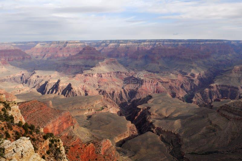 Vista 14 del grande canyon fotografia stock libera da diritti