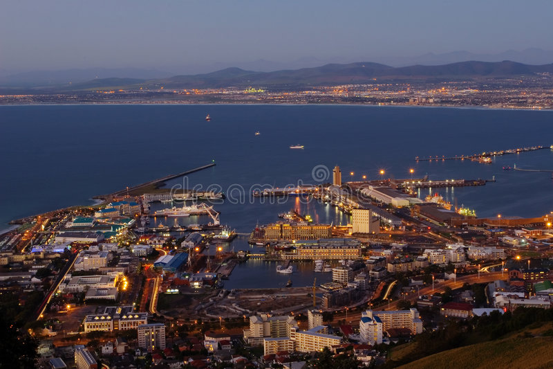 Vista #3 di Città del Capo fotografie stock libere da diritti
