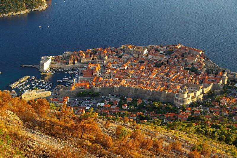 Vista 34 di Dubrovnik fotografia stock libera da diritti