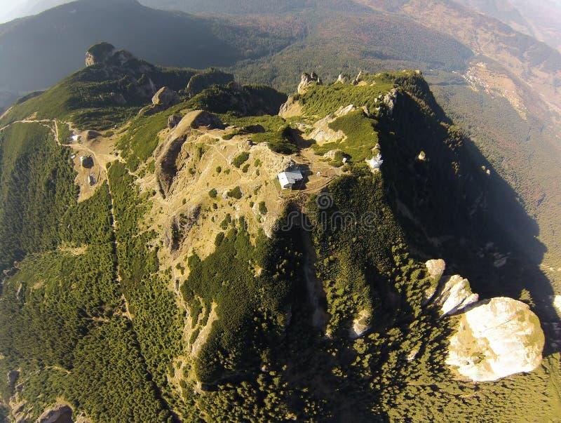 Vista aérea da montanha imagem de stock royalty free