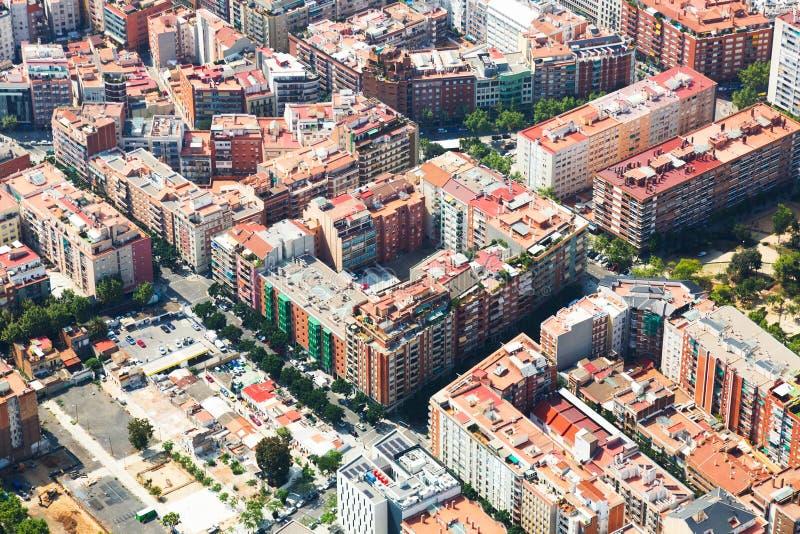 Download Vista Aérea De Casas En El Distrito Residencial Foto de archivo - Imagen de españa, español: 44851972