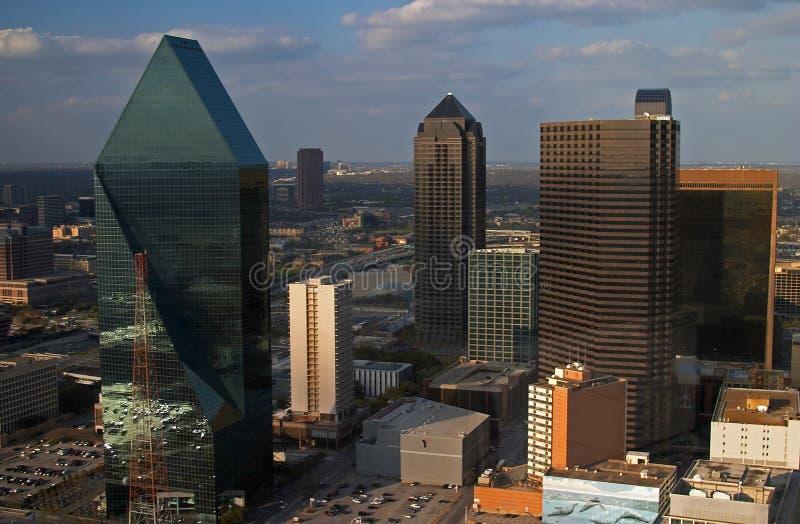 Vista aérea de Dallas imágenes de archivo libres de regalías