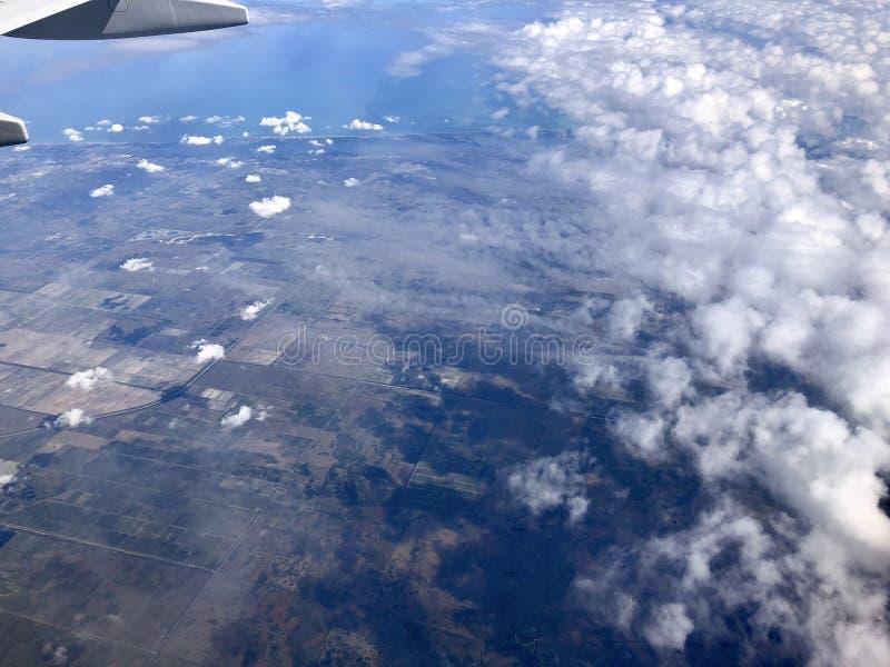 Vista aérea de florida imagem de stock
