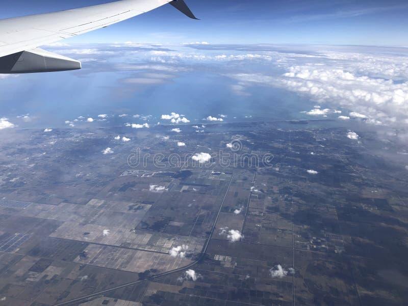 Vista aérea de florida foto de stock