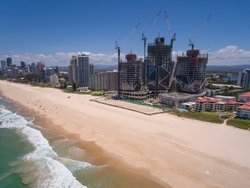 Vista aérea de la ciudad australiana fotografía de archivo libre de regalías