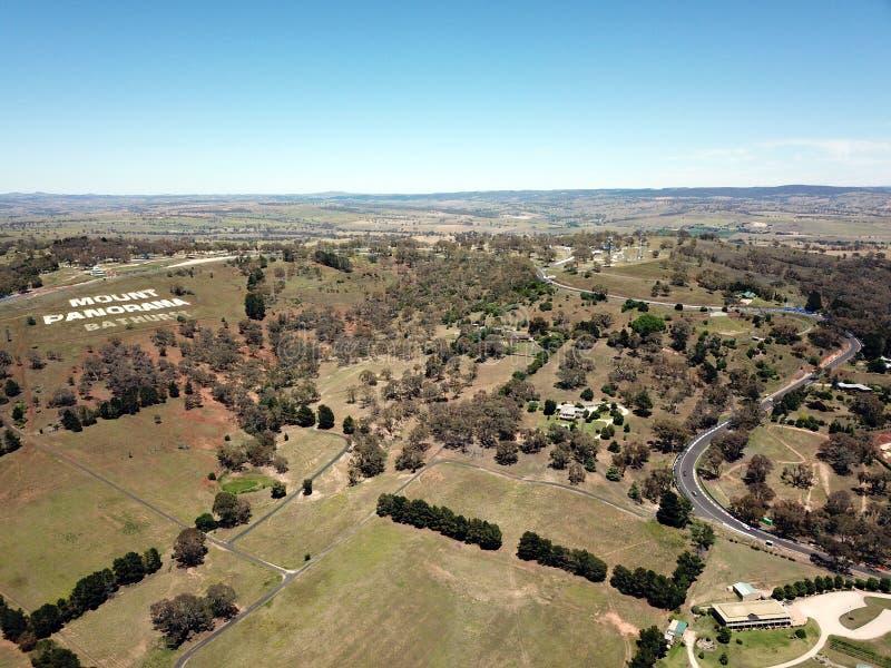 Vista aérea de la ciudad regional del país de Bathurst imágenes de archivo libres de regalías