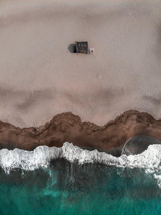 Vista aérea de la unión del La, San Juan, las Filipinas imagenes de archivo