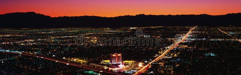 Vista aérea de Las Vegas imagem de stock royalty free