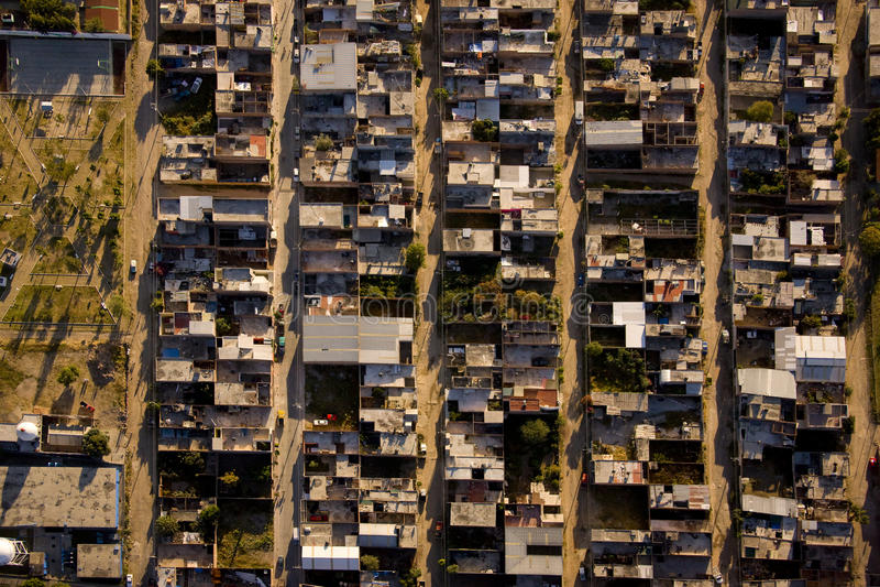 Vista aérea de leon México foto de archivo