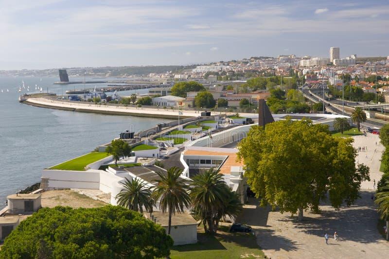Vista aérea de Lisboa imagen de archivo