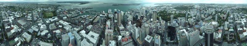 Vista aérea de mayor Auckland metropolitana fotografía de archivo libre de regalías