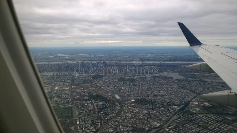 Vista aérea de New York imagens de stock
