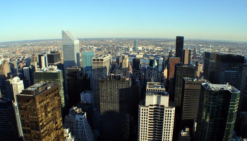 Vista aérea de New York City imagens de stock royalty free